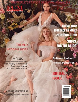 "Fashion Couture Magazine "" Bridal Issue"" Vol. 4 No. 7"