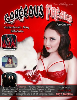 Issue 26 Valentine's day Edition Cover Model: Skye Medusa