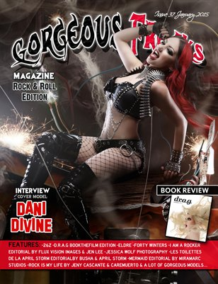 Issue 37 Rock & Roll Edition Cover Model: Dani Divine