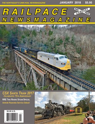 2018-01 JANUARY 2018 Railpace Newsmagazine