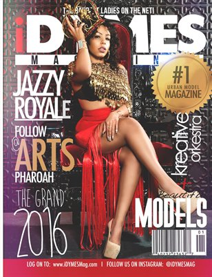JAZZY ROYALE iDYMES Mag Cover