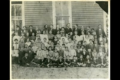 1914-1915 CALVERT CITY SCHOOL, MARSHALL COUNTY, KENTUCKY