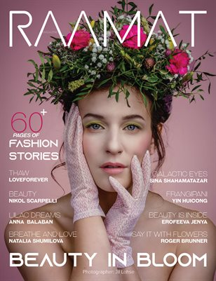 RAAMAT Magazine March 2021 FLOWERS Special Edition Issue 3