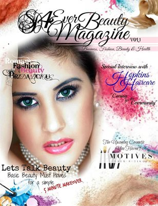 SD 4 Ever Beauty Magazine Vol 1 June 2017