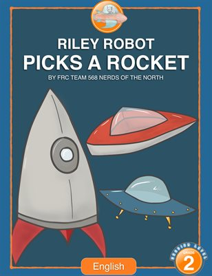 Riley Robot Picks a Rocket - English