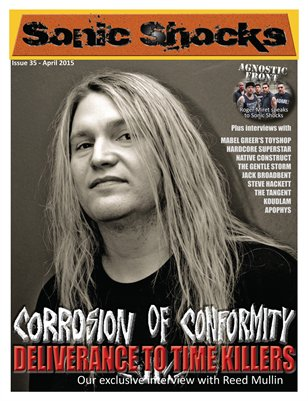 SONIC SHOCKS Issue 35 - April 2015