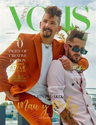 VOUS Magazine | The Fashion & Beauty Celebrity Edition | MAU Y RICKY | Vol.1 | July 2021