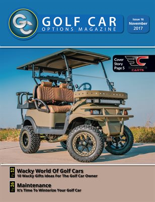 Golf Car Options Magazine - November 2017