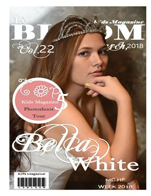 Le Bloom Kids Magazine Bella White