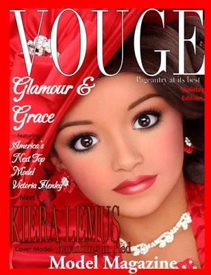 Glamour & Grace Model Magazine Holiday Edition