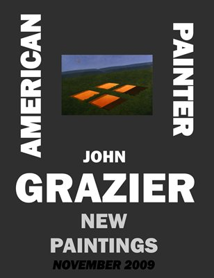 AMERICAN PAINTER JOHN GRAZIER NEW PAINTINGS