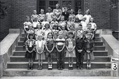 May 10 1951 3rd Grade, Washington School, Graves County, Kentucky