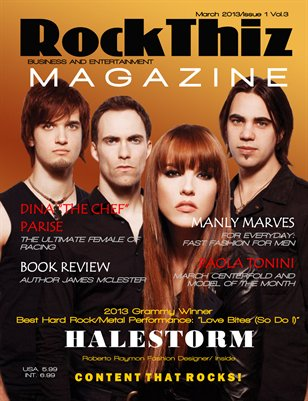 Rock Thiz Magazine Issue #1 Vol.3 March 2013