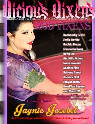 Vicious Vixens Magazine Issue #8 Rod Vixens