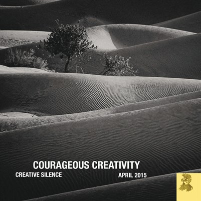 Courageous Creativity April 2015
