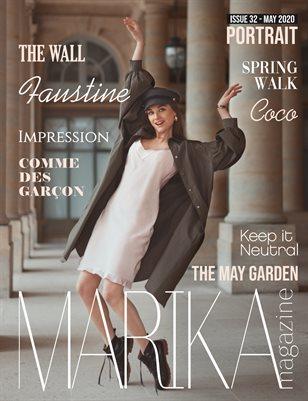 MARIKA MAGAZINE PORTRAIT (May - issue 32)