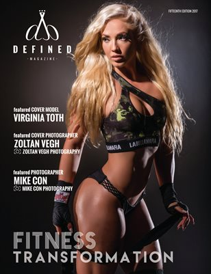 DEFINED MAGAZINE FIFTEENTH EDITION - FITNESS TRANSFORMATION