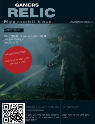Gamers Relic May Issue