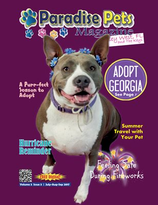 Paradise Pets Magazine, Key West, FL Vol. 3 Issue 3 July-Sept 2017