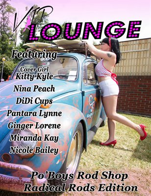 VIP Lounge Radical Rods Edition Kitty Kyle Cover