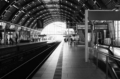 Departure Berlin Poster