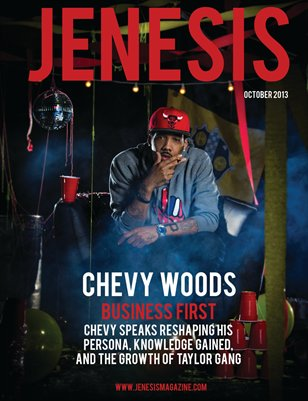 JENESIS Magazine October Issue 2013 feat Chevy Woods