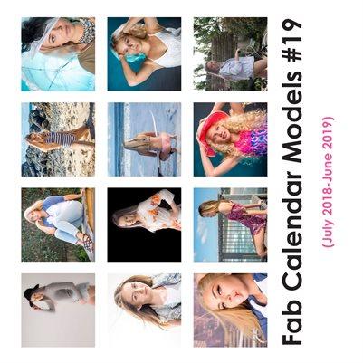 Fab Calendar Models 19