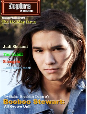 ZEPHRAMAGAZINE: ISSUE #4:  THE HOLIDAY ISSUE