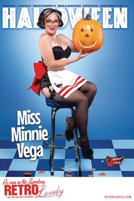 Halloween 2021 Vol.3 – Minnie Miss Vega Cover Poster