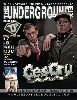 The Underground Fix Magazine Issue #44