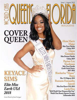 World Class Queens of Florida Magazine Issue 1 with Keyace Sims