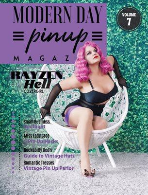 Modern Day Pin Up Magazine Volume 7