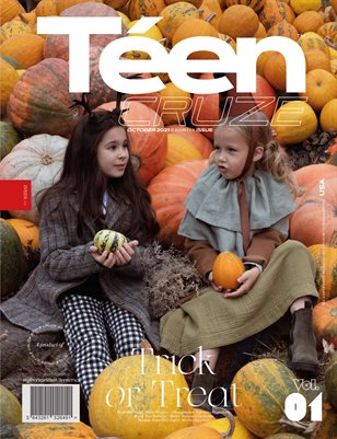 OCTOBER 2021 Halloween Issue (Vol: 01) | TÉENCRUZE Magazine