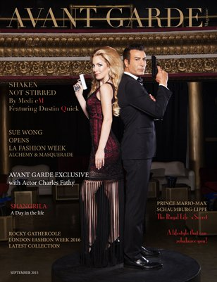 AVANT GARDE Magazine September Issue 2015