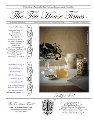 The Tea House Times Sept/Oct 2014 Issue