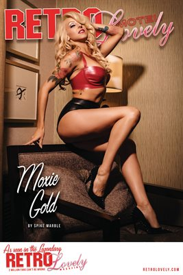 MOTEL 2021 Special Edition Vol. 1 – Moxie Gold Cover Poster