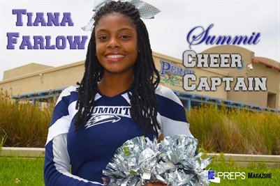 Summit Cheer Captain Tiana Farlow