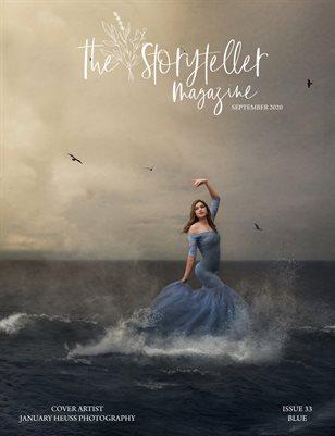 The Storyteller Magazine Issue #33 Blue