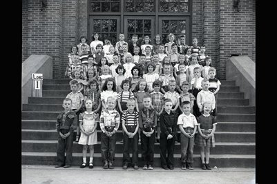 May 10, 1951 1st Grade, Longfellow School, Mayfield, Graves County, Kentucky