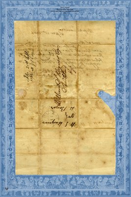 1846 Letter to William S. Haynes Esq. Smithland, Kentucky