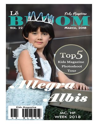 Le Bloom Kids Magazine Allegra Albis