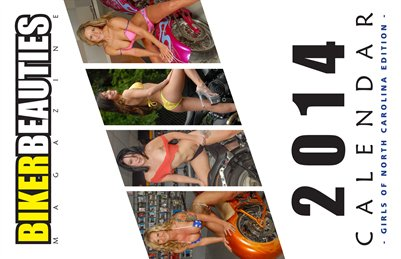 2014 Girls of North Carolina Calendar