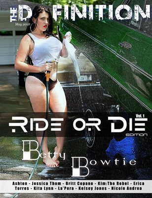 The Definition: Ride or Die special edition vol.1 Betty Bowtie Cover