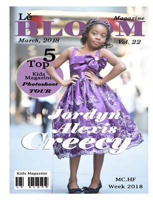 Le Bloom Kids Magazine Jordyn Alexis