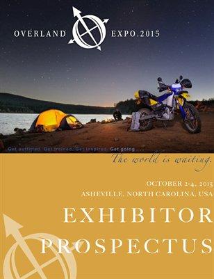 Overland Expo 2015 EAST Exhibitor Prospectus