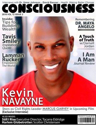 Consciousness Magazine Kevin Navayne cover