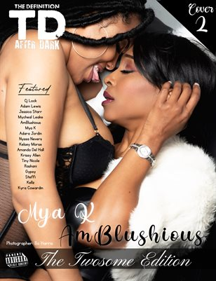 TDM After Dark: AmBlushious -Mya K Twosome Theme March 2021 cover2