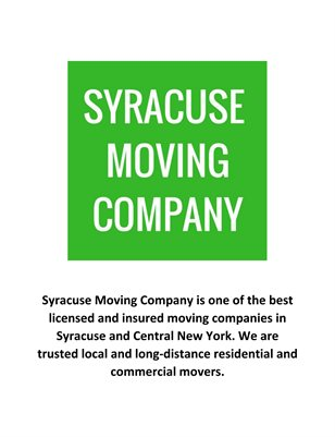 Syracuse Moving Company