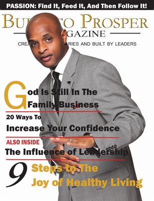 Built To Prosper Magazine Issue II Cover 3