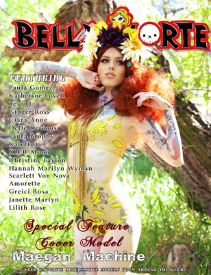 Bella Morte Spring 2014 Maegan Machine Cover